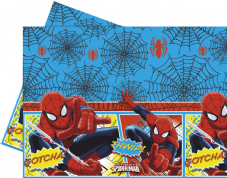Spiderman Plastic Party Tablecover